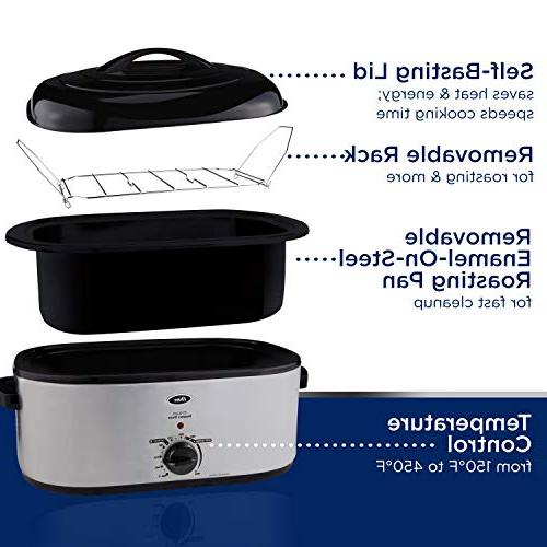 Oster Roaster 22-Qt, Stainless