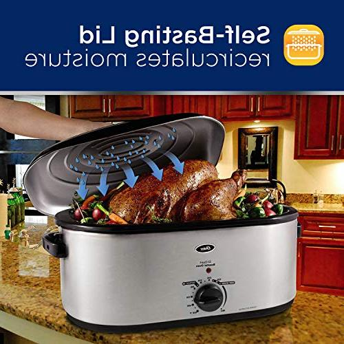 Oster 22-Qt, Stainless Steel