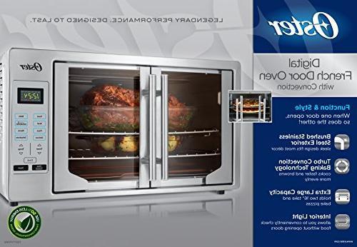 Oster TSSTTVFDDG Digital French Door Oven, Stainless