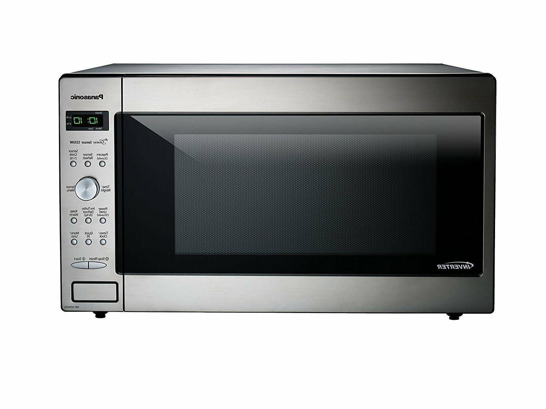 Panasonic Microwave Oven NN-SD945S Stainless Steel Counterto