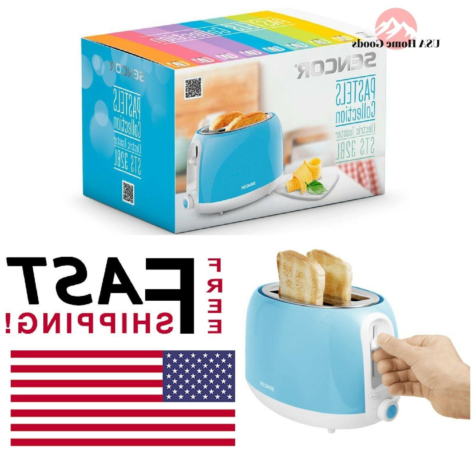 Sencor - Sts 2-slice Regular-slot Toaster - Blue