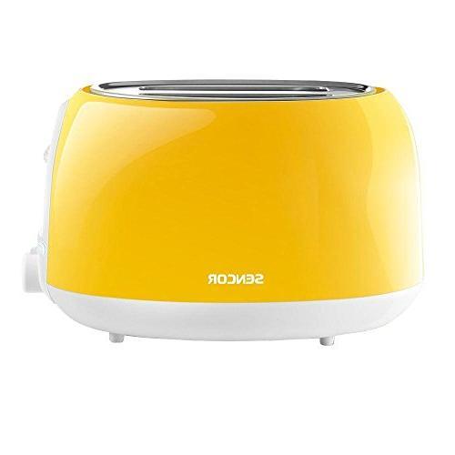 Sencor - Sts 2-slice Regular-slot Toaster - Yellow