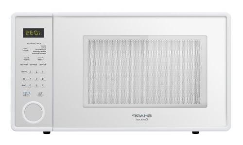 Sharp 1.1 Cu. Ft, 1000W Touch Mid-Size Countertop Microwave