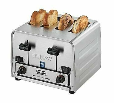 Waring Commercial WCT850RC Heavy Duty Bread and Bagel Toaste