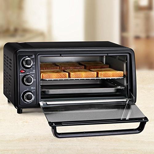 West Bend Toaster Oven, Black, 1