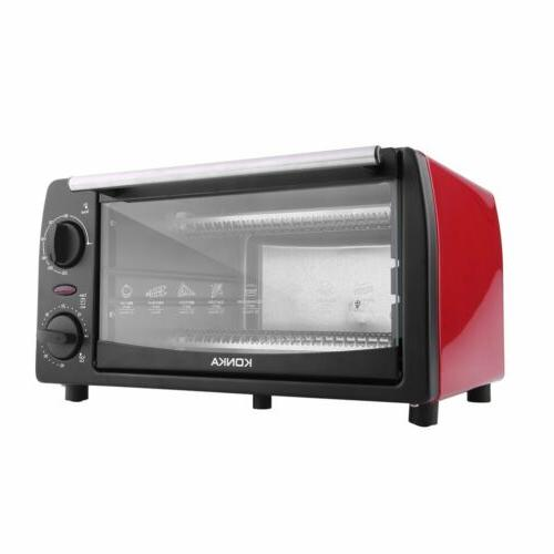 1050W Convection Electric Toaster Oven Stainless Steel Broil