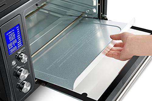 Toshiba oven with Bread/12-Inch Black Steel