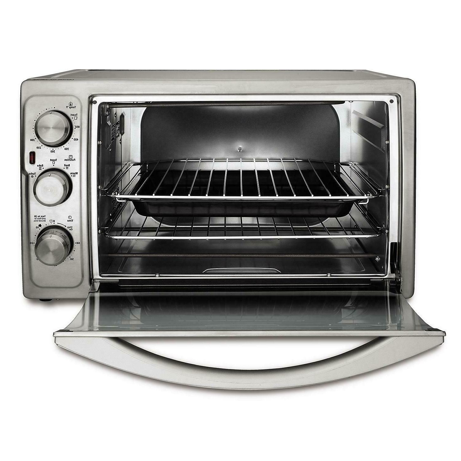 Oster Adjustable Countertop Convection Oven, Steel
