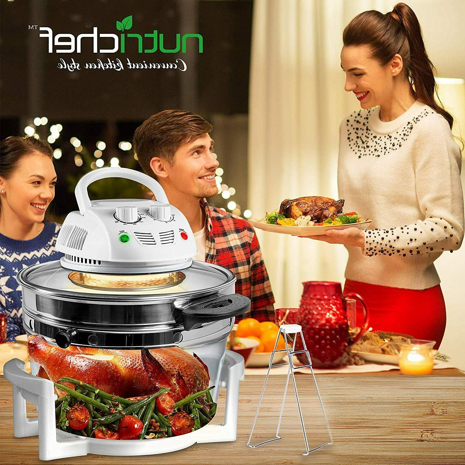 Nutrichef Air Convection Stainless