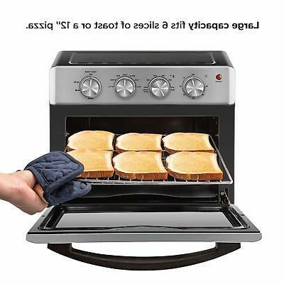 Chefman Oven XL 6 Slice 25 Liter with A...