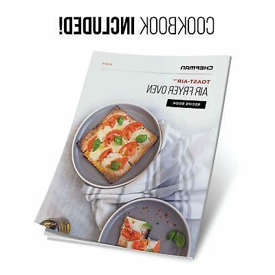 Chefman Fryer Oven 6 Slice 25 AirFryer with
