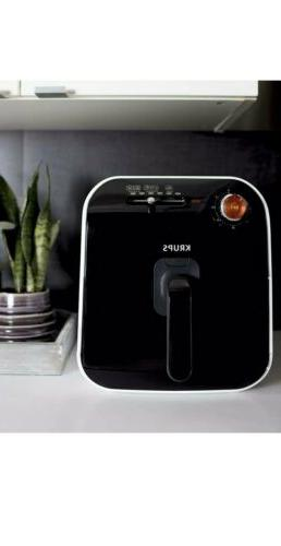 KRUPS Low-Fat with Adjustable Temperature, 2.5 Black