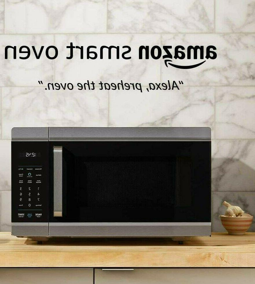 alexa smart pro convection oven microwave air