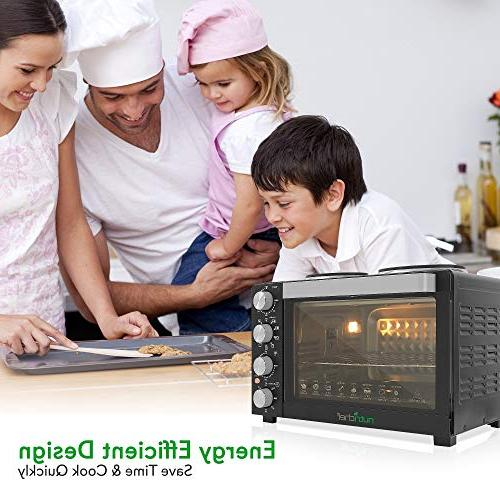 Nutrichef Convection - Electric Toaster with Food Warming Hot 30+