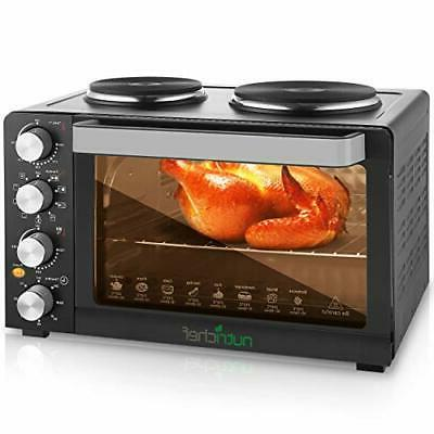 Nutrichef Convection - Toaster Oven with Food Hot 30+ Quart