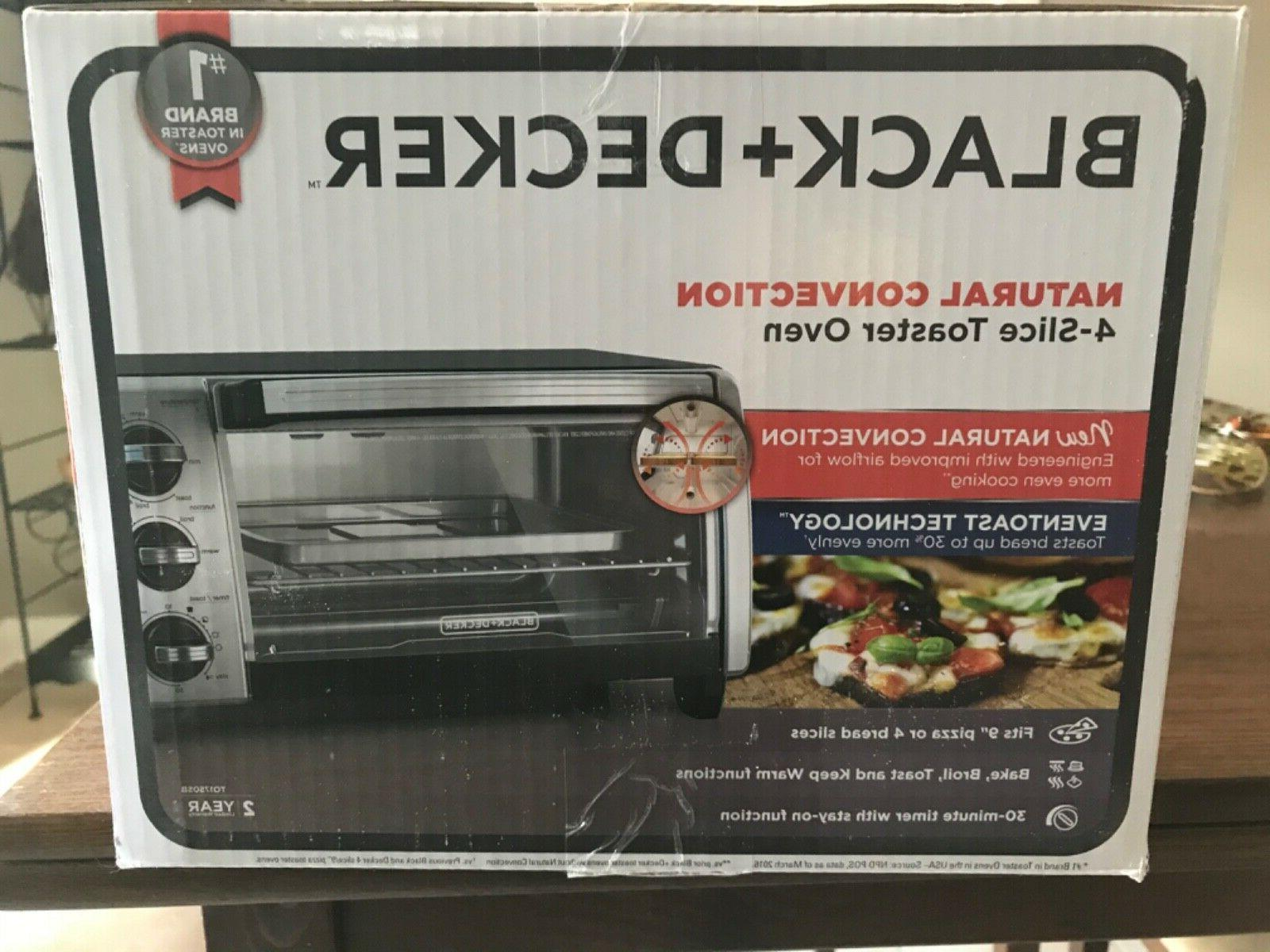 black and decker 4 slice convection toaster