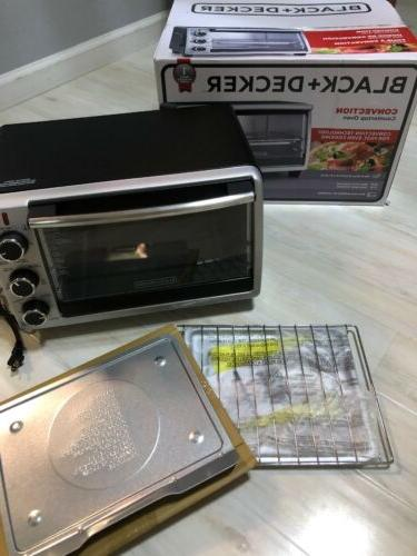 BLACK & Countertop Pizza Toaster Oven - TO1950SBD
