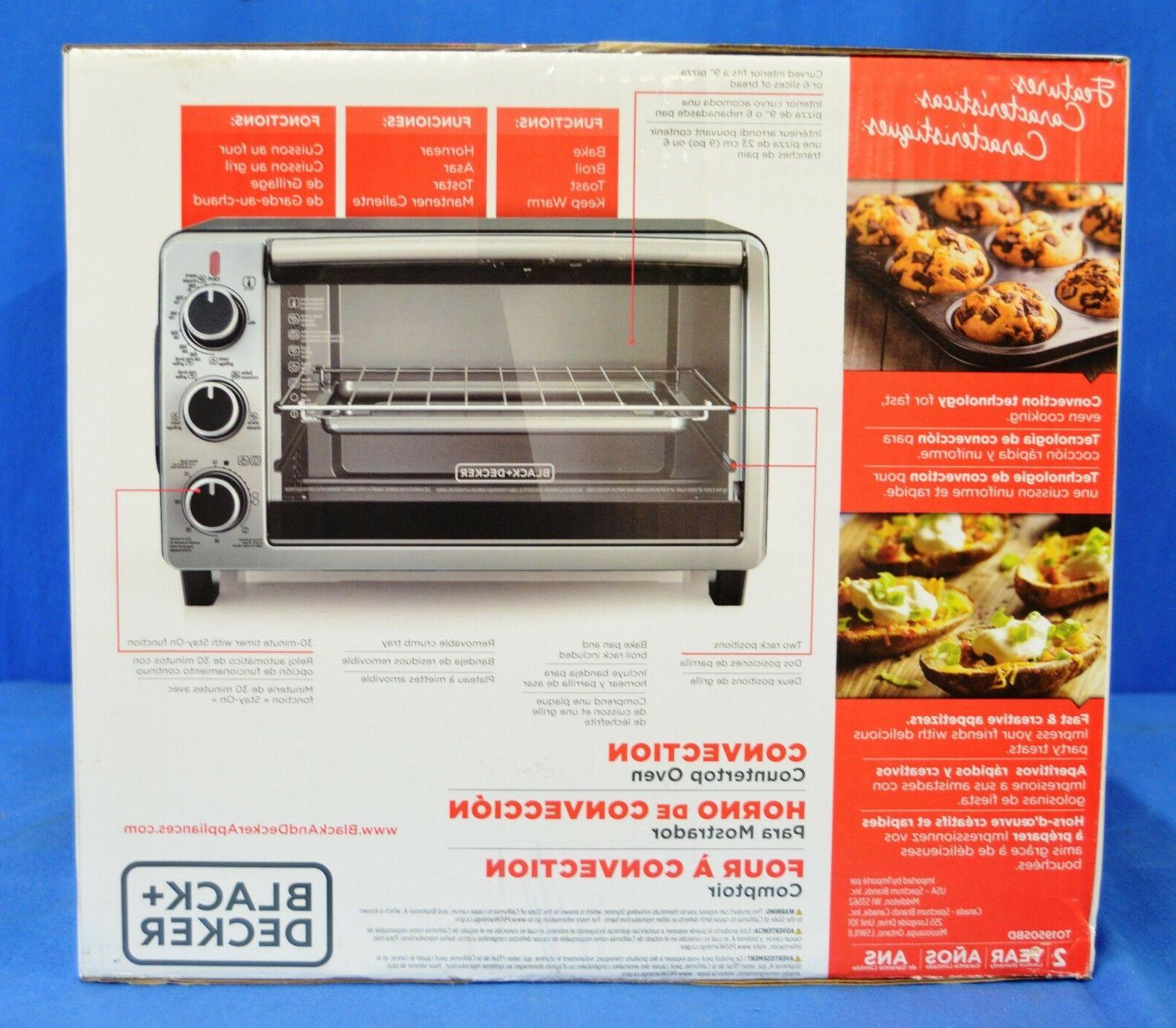 Black & Decker Stainless Convection Oven