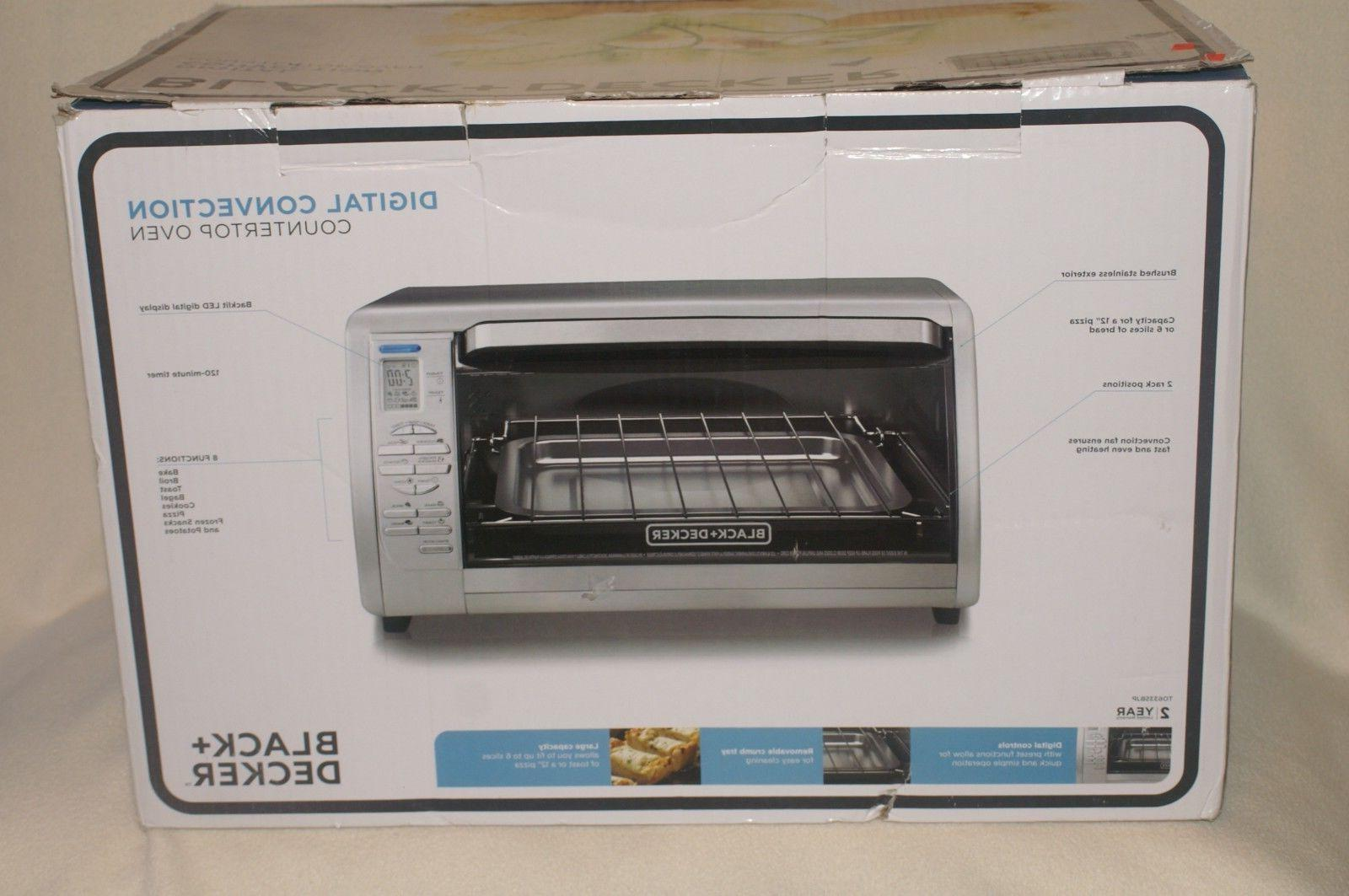 Black & Decker Convection TO 6335 - New - Open