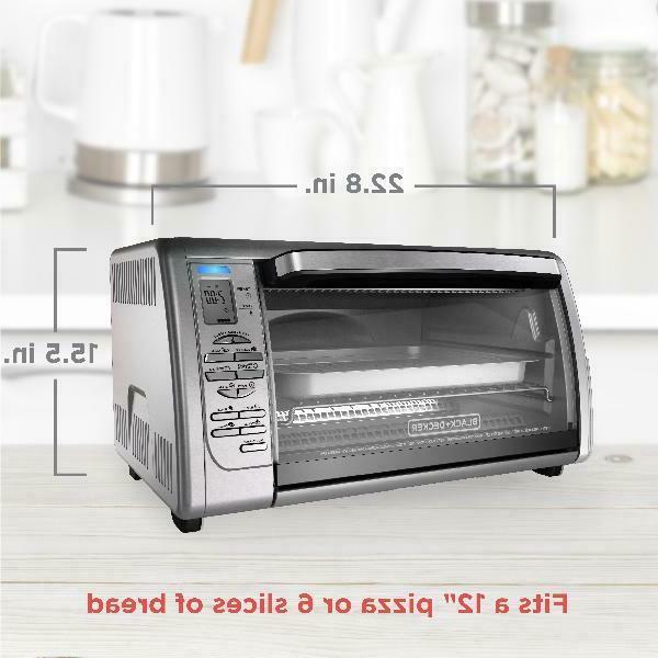 BLACK+DECKER Countertop Oven,