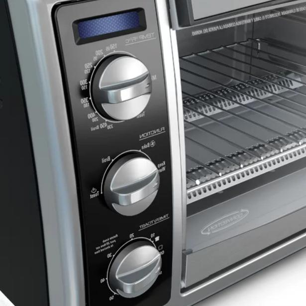 Black Convection Toaster Oven