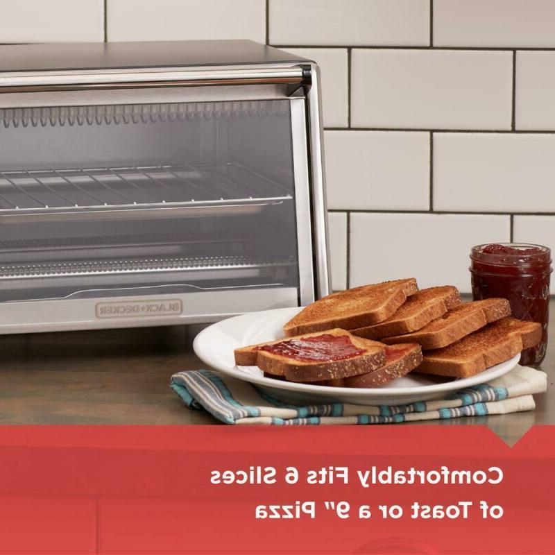 BLACK+DECKER Oven 6-Slice Pizza