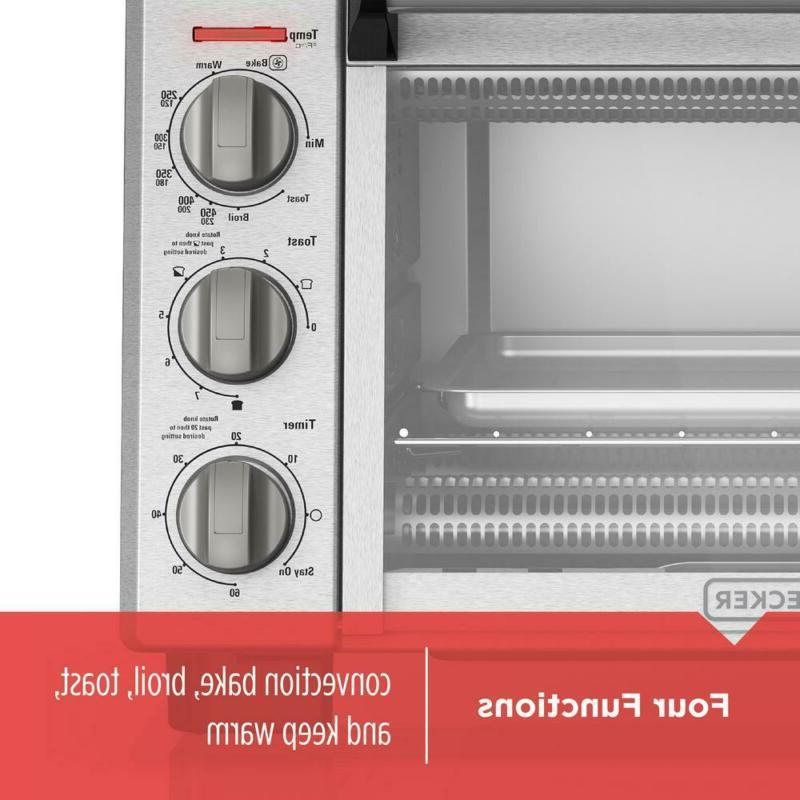 BLACK+DECKER Oven 6-Slice Or Pizza