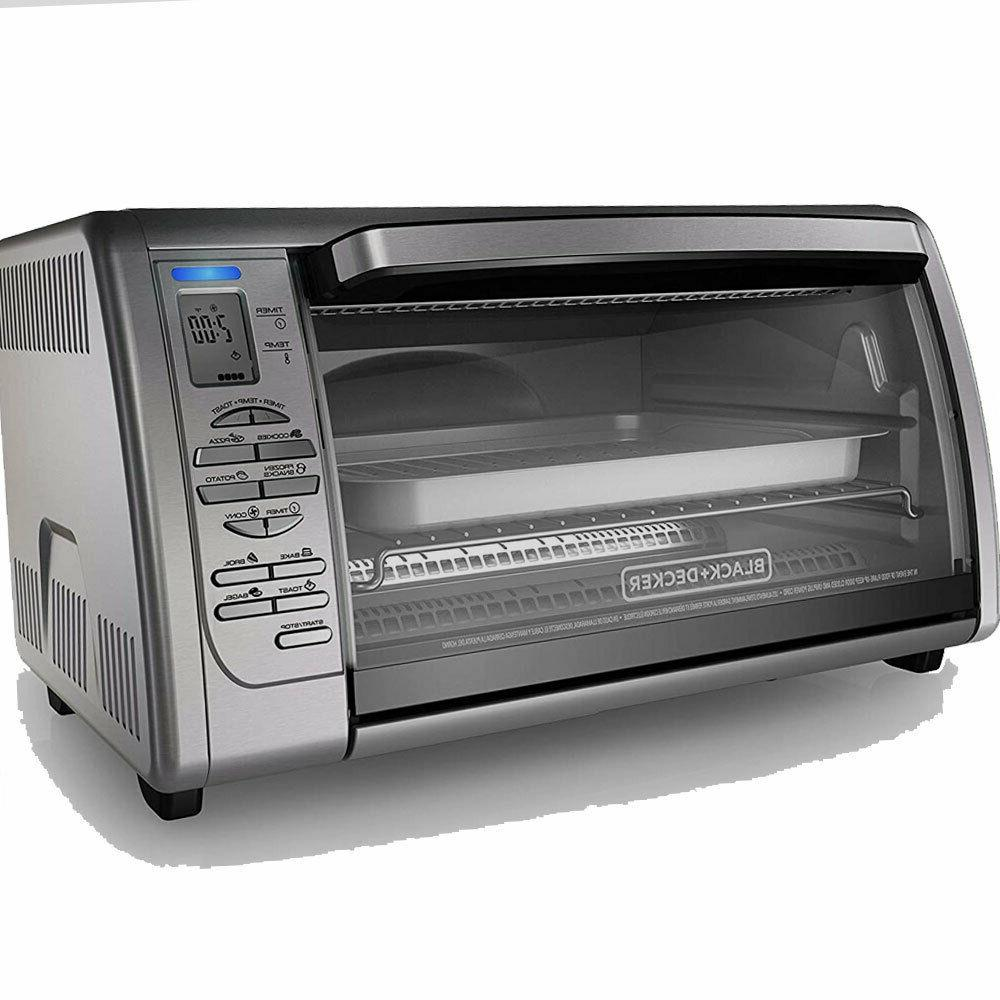 BLACK+DECKER Stainless W Digital Toaster Oven...
