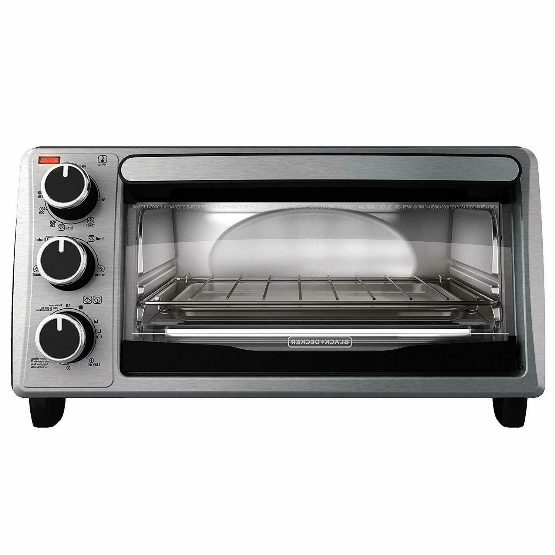 black decker to1303sb 4 slice toaster oven