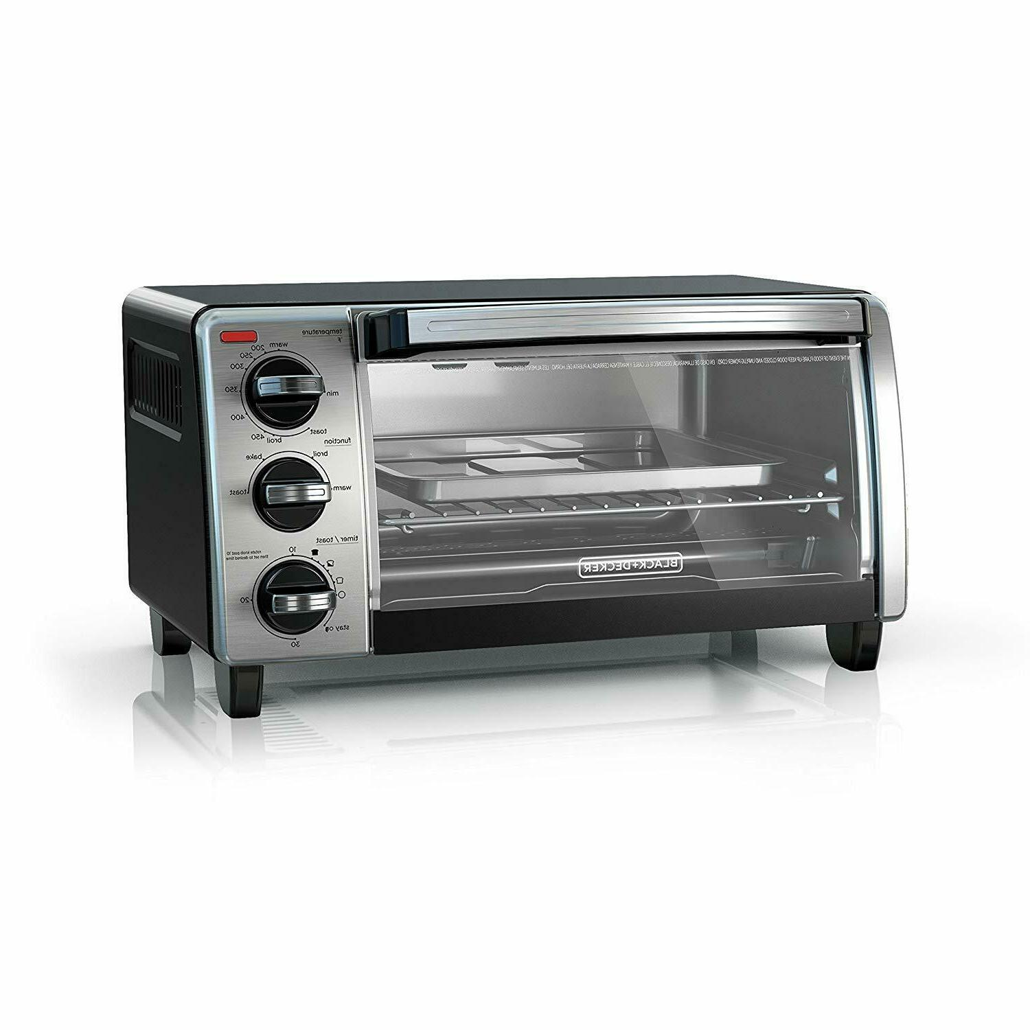 black decker to1750sb 4 slice toaster oven