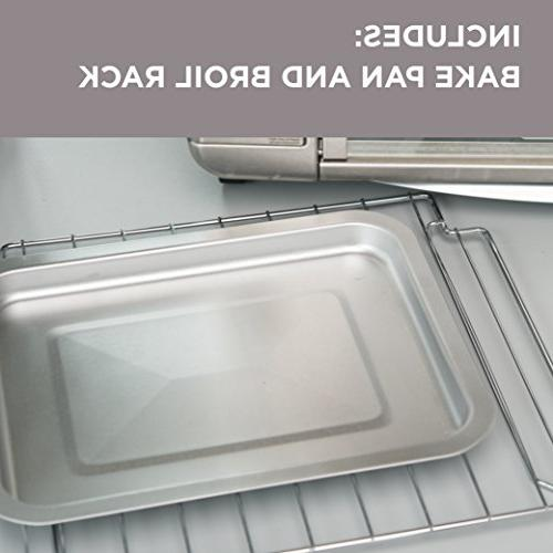 Black Decker TO3230SBD Toaster Convection, Warm Silver