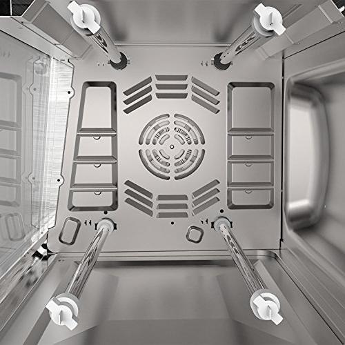 Countertop Toaster Oven, Silver
