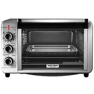 Black Amp Decker To3210ssd Countertop Convection Toaster Oven
