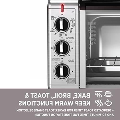 Black Toaster Convection, Warm Silver