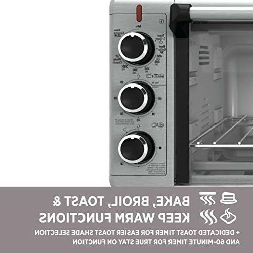 BLACK+DECKER Wide Toaster Oven, I
