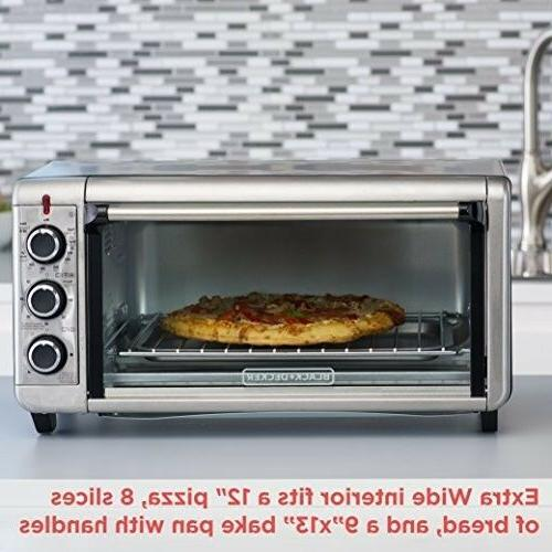 BLACK+DECKER TO3240XSBD Extra Wide Oven,