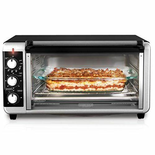 BLACK+DECKER TO3250XSB Wide Countertop Oven,