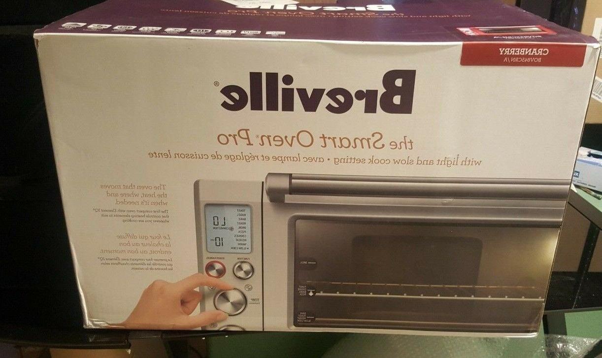 bov845crnusc smart oven pro countertop convection cranberry