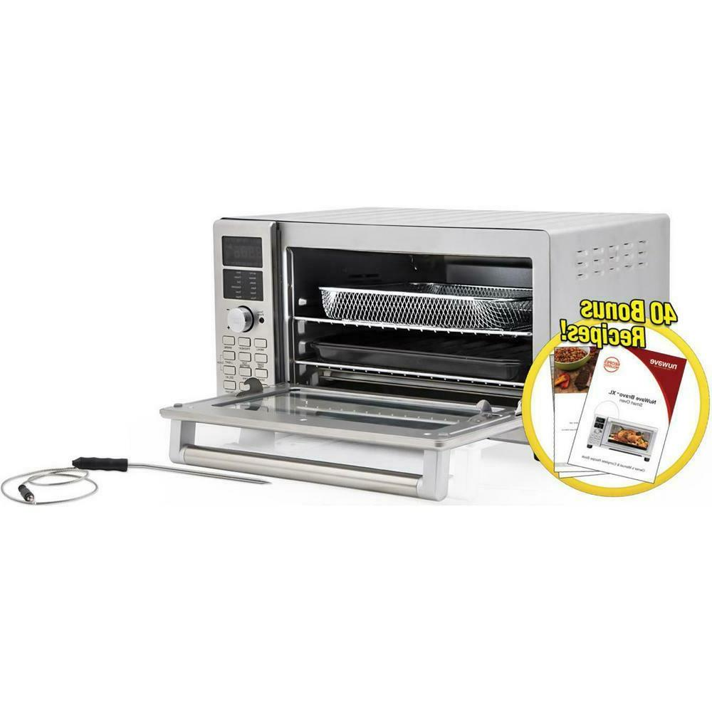 Bravo 1800 W 4-Slice Stainless Oven And Air 1 Cubic Foot