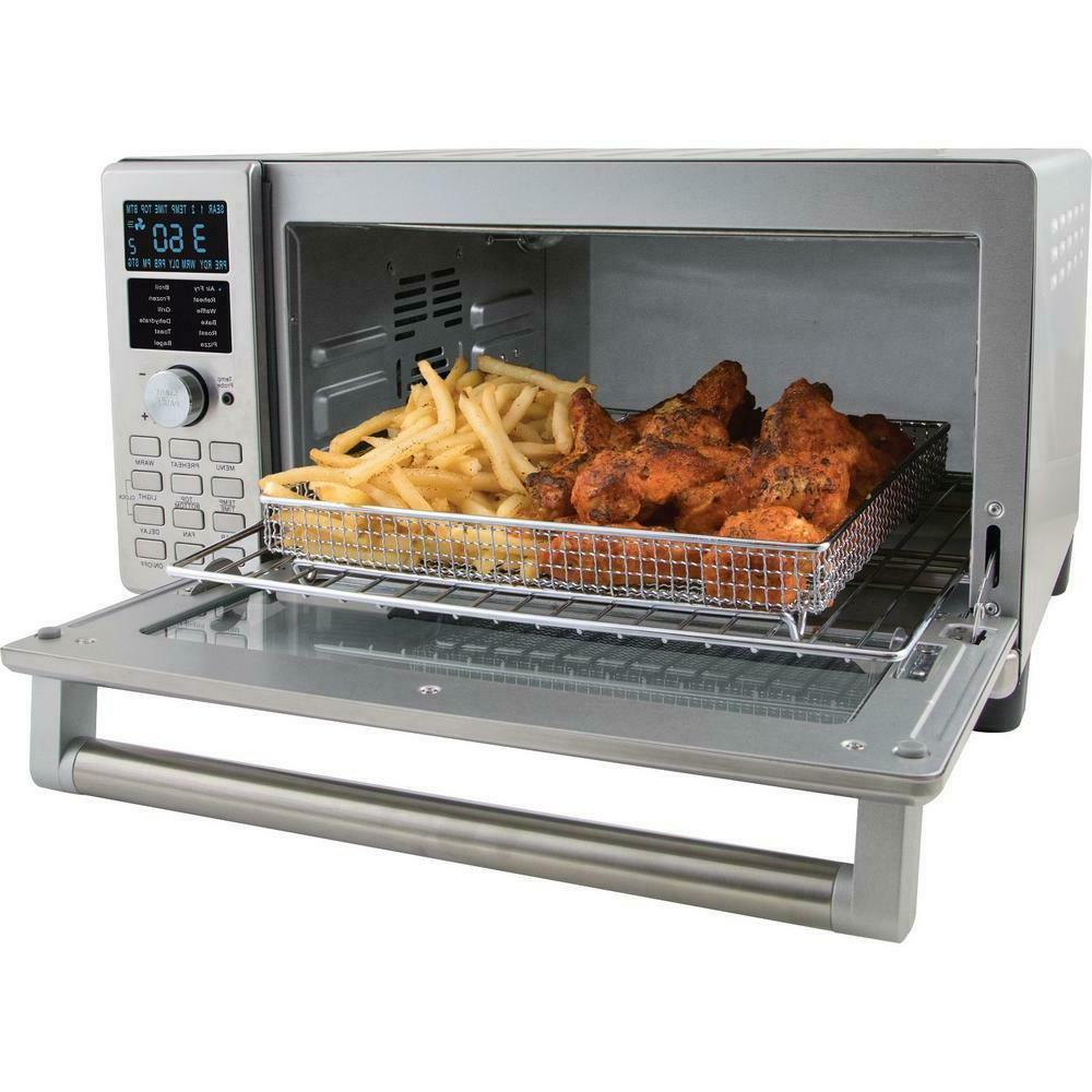 4-Slice Stainless Steel Oven And Air 1 Cubic Foot