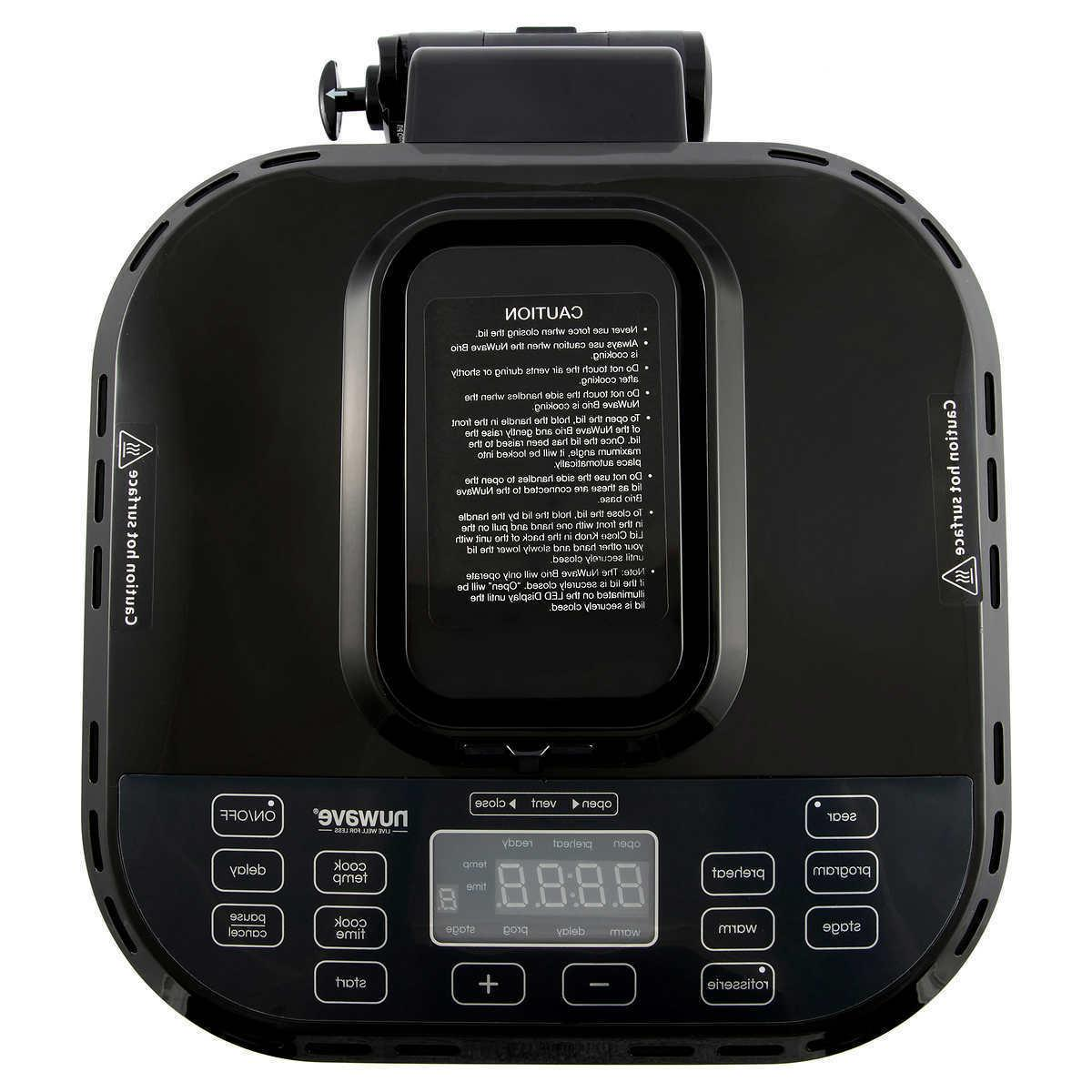 NuWave Digital Large Fryer, Black - Electric Deep, NEW!
