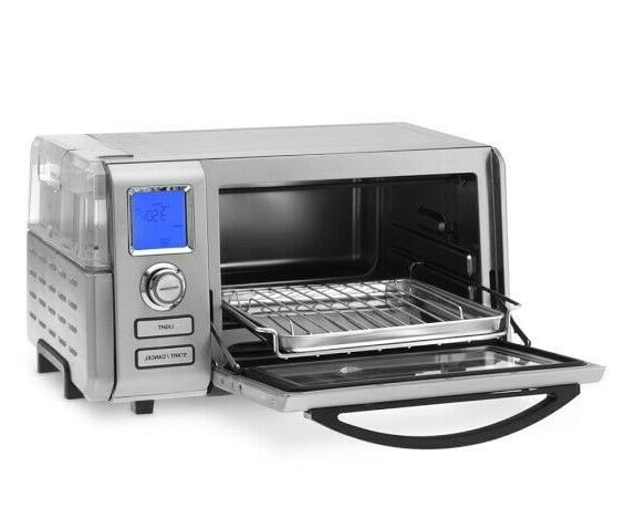 Cuisinart Convection Oven Steel & new!