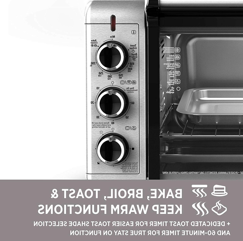 Commercial Decker Steel Toaster