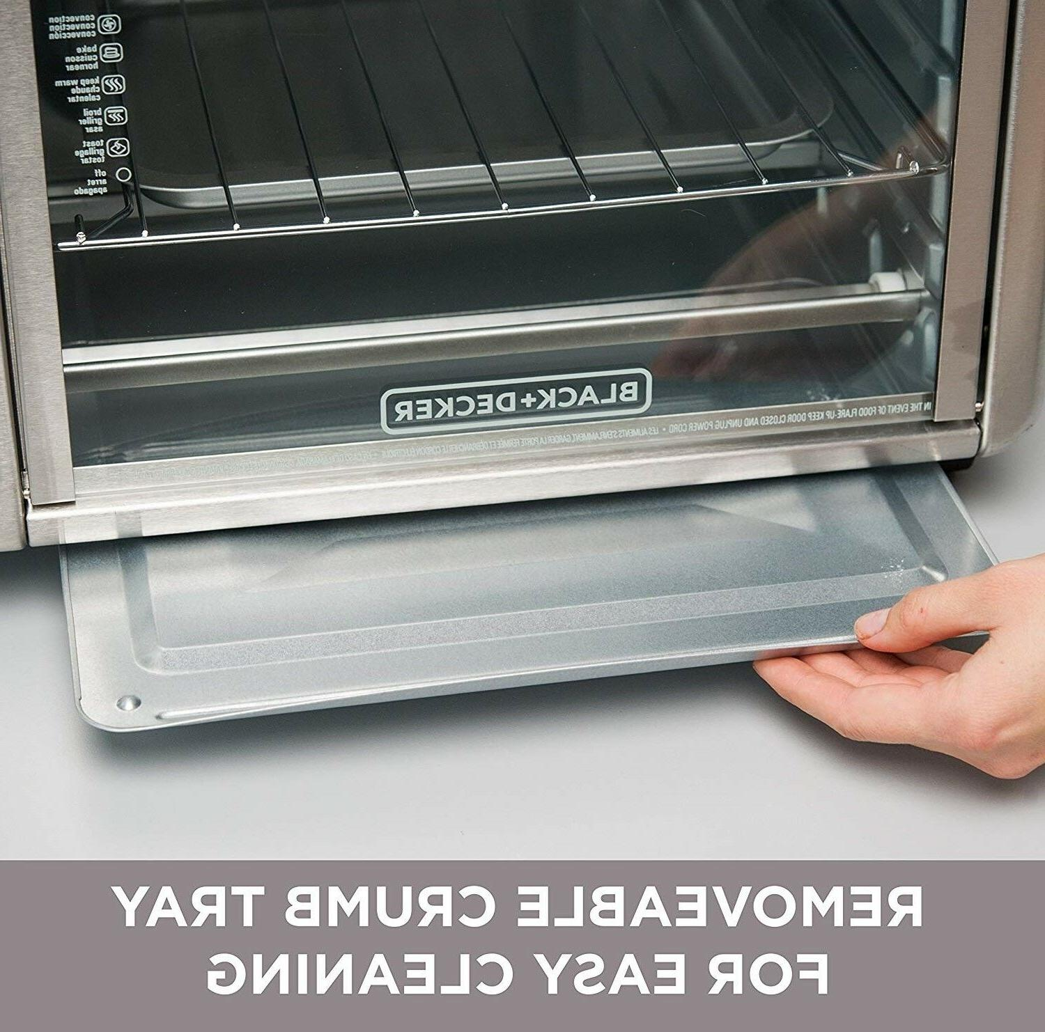 Commercial Decker Stainless Countertop Toaster Bake