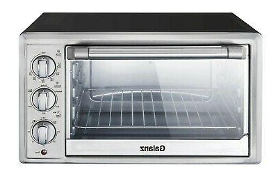 convection 6 slice countertop toaster oven stainless