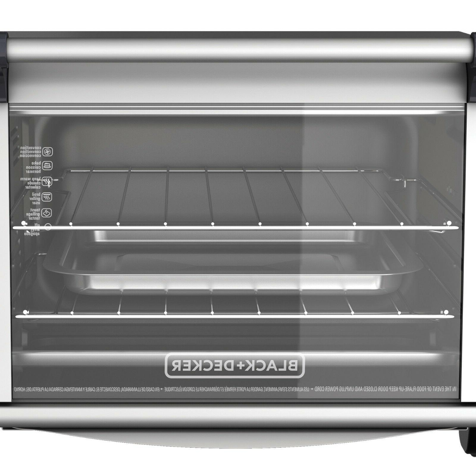 Convection Toaster Baking Eating Food Fast Smart