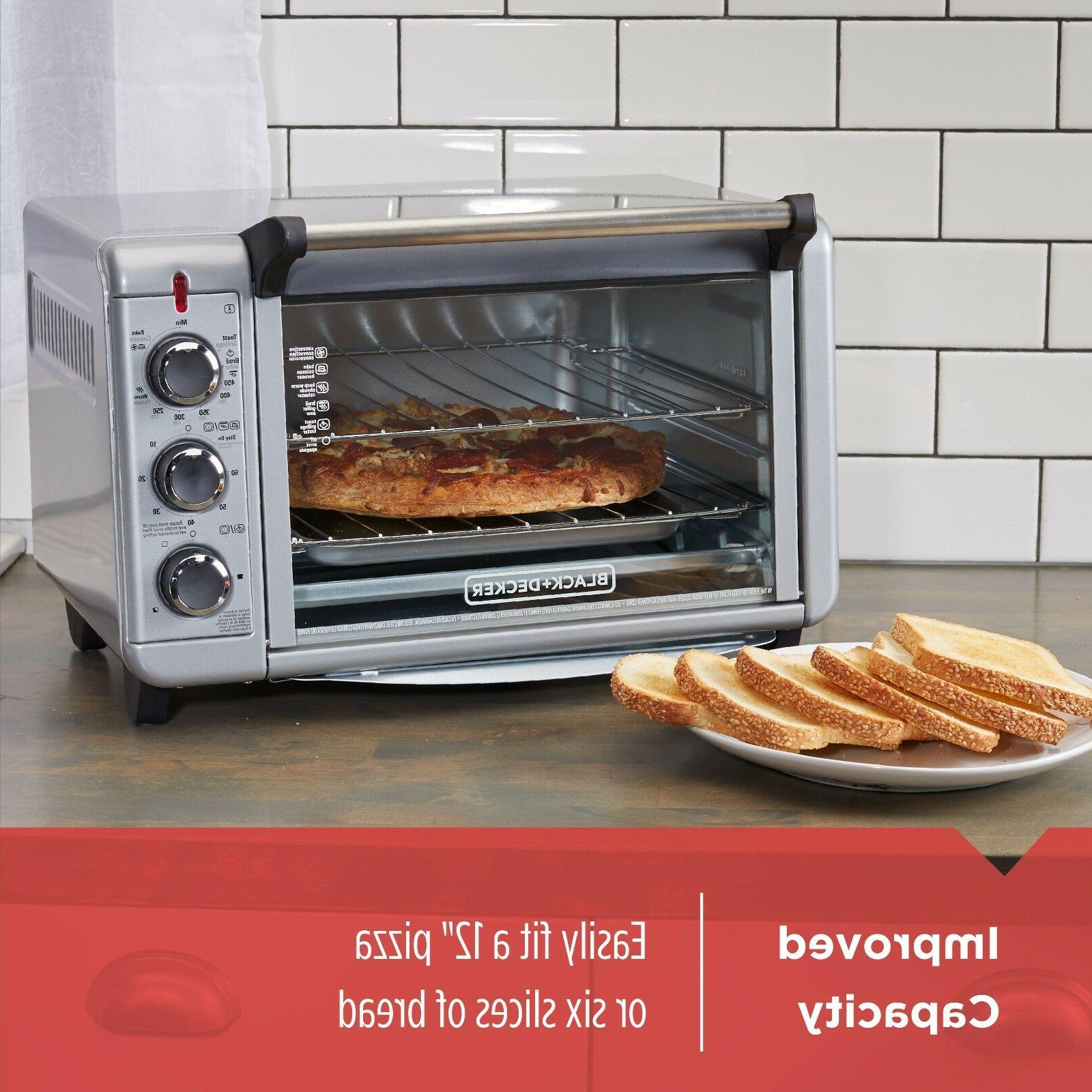 Convection Countertop Baking Eating Food Fast Smart