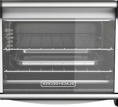 Convection Heat Countertop Oven Stainless Steel Decker Three