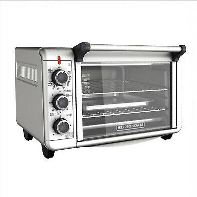 convection heat countertop toaster oven stainless steel