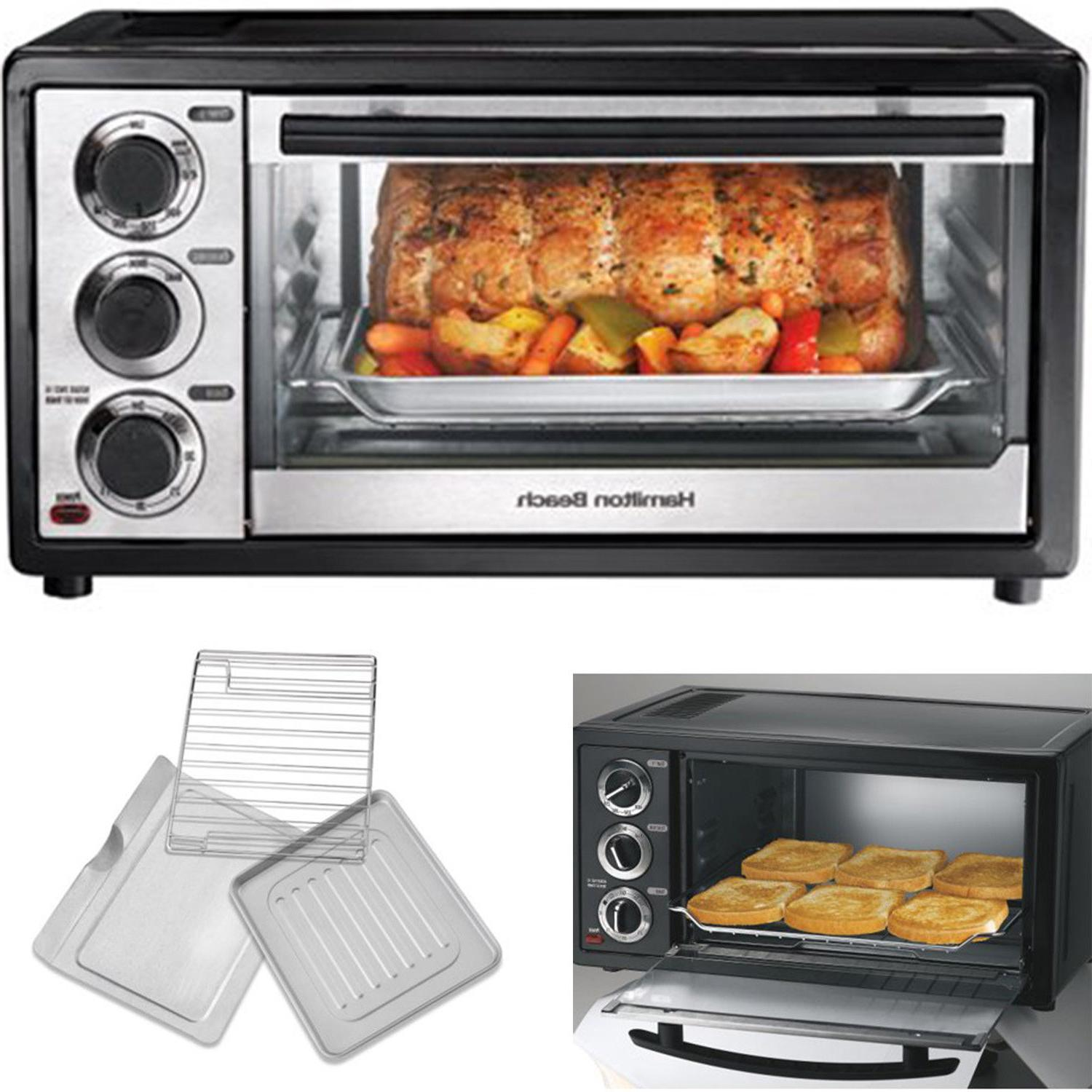 Hamilton Beach Convection Kitchen Oven Toaster Pizza 6 Slice